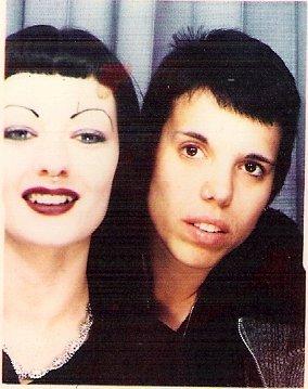 Circa 1994 - So goth we pooped eyeliner.