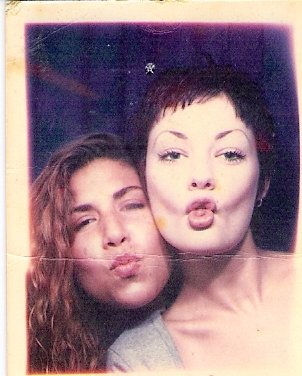 Circa 1993 - we were doing the Duck Lips before they were cool. Oh wait, they have never been cool. My bad.
