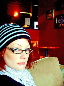 This was deemed my Where's Waldo skully cap by my friend Anuj. This is my permanent expression in winter. Aren't I cheery?!