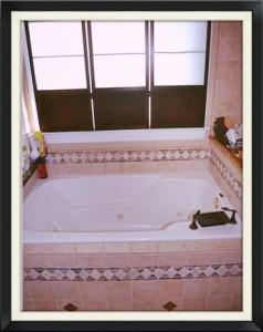 Jacuzzi bathtub in the master bath. Oh yeeeah.