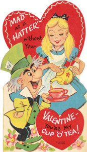 Curiouser & curiouser, imagine that! An Alice in Wonderland Valentine from someone who's mad as a hatter herself! ;)