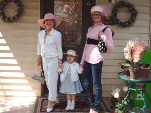 Annual Mad Hatter's Tea Party at Tea Leaves & Thyme in Woodstock, GA ~ circa 2006 :)