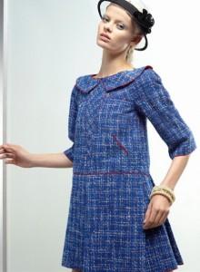 Trapeze Retro Chanel Springtime Dress @ 2fashion2.com