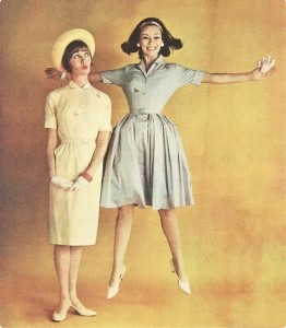 Some delectable '60s retro spring dresses found on Pinterest. Makes ya want to go play in a pile of Easter eggs, doesn't it?!