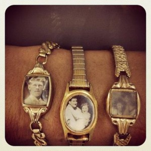 A quick & flippin' awesome reuse of your grandmother's broken watches! I really lovelovelove this idea.