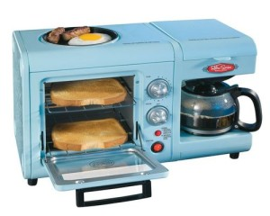 Nostalgia Electrics Retro Series 3-in-1 Breakfast Station. Retails just below $60! ~ manufacturersclearance.com