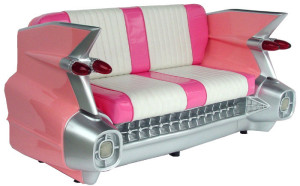 Retro Novelty Cadillac in PINK for all you Mary Kay ladies & gents! ~ wanelo.com