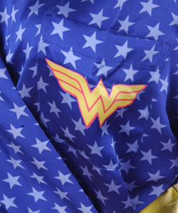 Wonder Woman Silk Robe