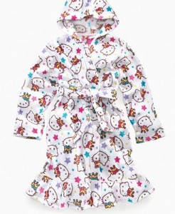 Hello Kitty Plush Robe